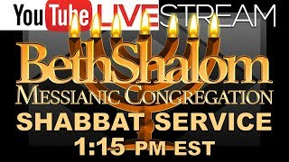 Download Beth Shalom Messianic Congregation Live 7-21-2018 Video