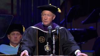 Download Purdue president to graduates: 'Stay humble' (Spring 2017) Video
