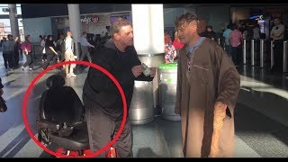 Download Nastiest Troll (In Real Life) Heckles Magician From Wheelchair & Fakes Disability Video