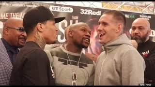 Download DRAMA!! FLOYD MAYWEATHER HEATED ARGUMENT W/ WALSH BROTHERS DURING DAVIS v WALSH HEAD TO HEAD Video