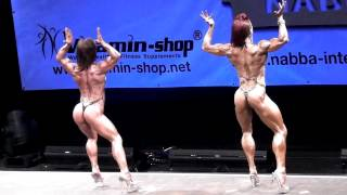 Download Overall Women Comparisons Final NABBA World 2012 Video