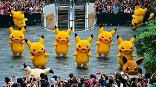 Download Pokemon Parade at Jewel Changi Airport with 8 Pikachu (4K) Video