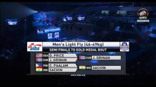 Download Sachin Singh - AIBA Youth World Boxing Championship Final Video