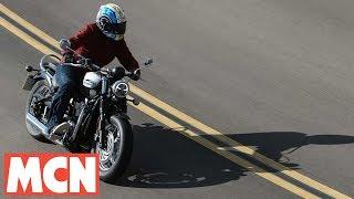 Download Triumph Bonneville Speedmaster   First Rides   Motorcyclenews Video