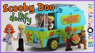 Download LEGO Scooby Doo minifigures to minidolls & a wedding Video