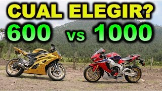 Download 600 cc VS 1000 cc CUAL ME COMPRO? - BLITZ RIDER Video