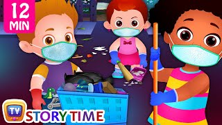 Download Clean and Green Neighbourhood + More Good Habits Bedtime Stories & Moral Stories for Kids - ChuChuTV Video