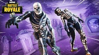 Download New Purple Glow Skull Trooper Skin!! - Fortnite Battle Royale Gameplay - Ninja & Nickmercs Video