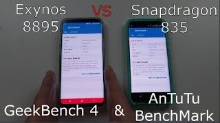 Download Galaxy S8: Exynos 8895 VS Snapdragon 835   Which is faster? Video