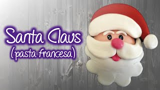 Download Santa Claus de Pasta Francesa en Iman de Refrigerador , Santa Claus Fridge magnet Video