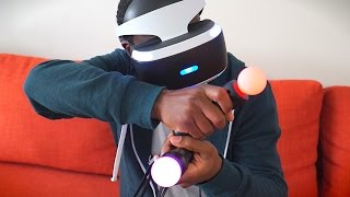 Download PlayStation VR Unboxing & Demo! Video
