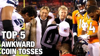 Download Top 5 Most Awkward Coin Toss Moments in NFL History | NFL Video