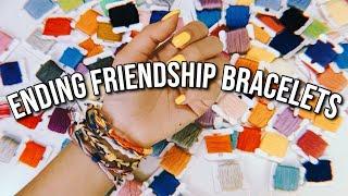 Download 6 WAYS TO START AND END YOUR FRIENDSHIP BRACELETS! *ADJUSTABLE* | DIYholic Video
