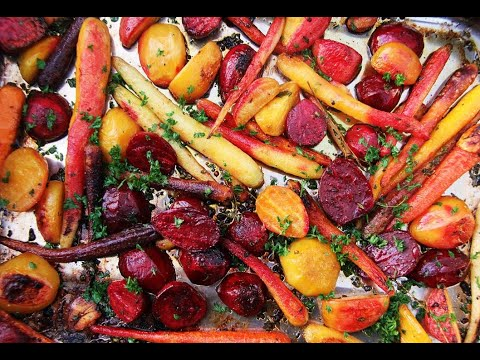 Grill / Roasted Beets & Carrots #MeatFreeMondays | CaribbeanPot.com