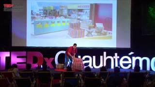 Download Encontré mi vocación en la basura | Andrés Lihma | TEDxJoven@Cuauhtémoc Video
