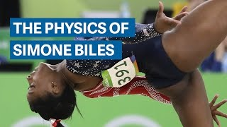 Download Simone Biles gravity-defying physics Video