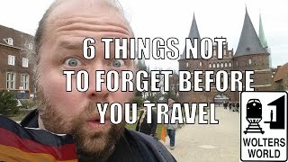 Download 6 Biggest Things People Forget to Do BEFORE They Travel Video