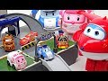 Download My friends are shrunk!! Super Wings, Disney Cars and Robocar Poli Pocket Playset!! - DuDuPopTOY Video