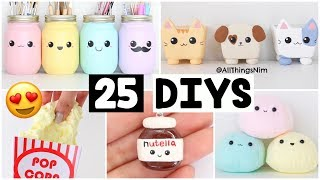 Download MAKING 25 AMAZING DIY Slimes, Squishies & Room Decor COMPILATION! Video