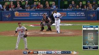 Download Bautista thrown behind, then homers Video