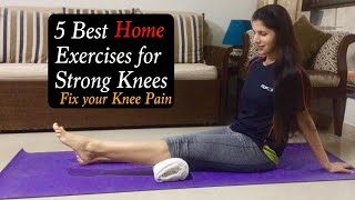 Download 5 Best Home Exercises for Knees Pain | Knee strengthening Exercises to Reduce Knee Pain | Cure Video