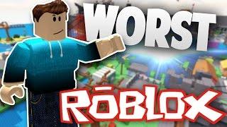 Download TOP 10 WORST ROBLOX Popular Games - 2017 Video