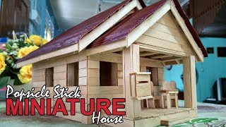 Download Popsicle Stick Miniature House // Custom Made Video