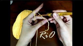 Download Học móc len căn bản - Bài 1: Cách cầm và chọn cỡ kim phù hợp cỡ len Video