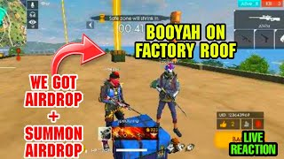 Download WE GOT A AIRDROP ON FACTORY ROOF INSANE BOOYAH WITH AWN AND GROZA TOTAL 15 KILLS    GARENA FREEFIRE Video
