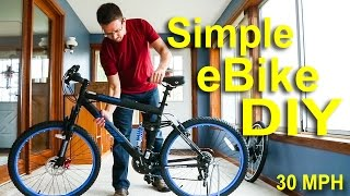 Download How to make an electric bike for under $500! Fast & Cheap eBike tutorial! Video