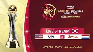 Download USA v Netherlands - Women's Baseball World Cup 2018 Video