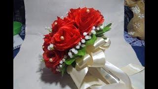 Download bunga pengantin cantik wedding handbouquet buket mawar bunga baby breath Video