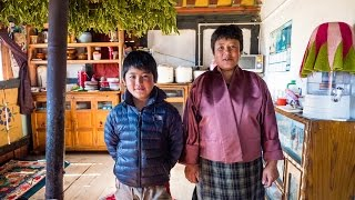 Download Bhutan Food at Culture at Local Farm Village in Phobjikha Valley, and a YAK BURGER! (Day 15) Video