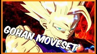 Download DRAGON BALL FIGHTER Z - GOHAN MOVESET Video