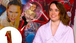 Download ″I don't wanna be in someone's mouth!″: Daisy Ridley on her Star Wars lollipops Video