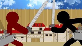 Download Shingeki no Kyojin Stick Fight Video