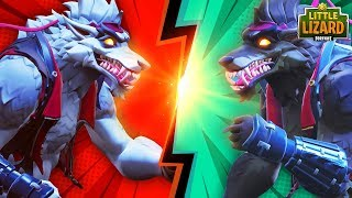 Download SKULL TROOPER'S CREATION! WHITE WEREWOLF V's DIRE! -NEW SKIN- *SEASON 6* - FORTNITE SHORT FILMS Video