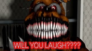 Download FNAF: Can You Get To The End Without Laughing (FUNNY Try Not To Laugh FNAF) #2 Video