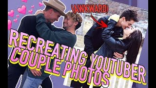 Download RE-CREATING AWKWARD YOUTUBER COUPLE PHOTOS Video