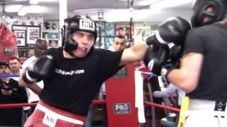Download Julio Cesar Chavez Jr. Sparring Vanes Martirosyan Video