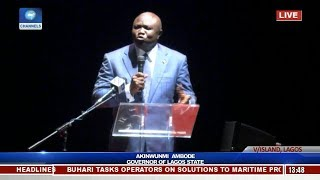 Download ″Who Am I To Speak After The Jagaban Has Spoken″, Ambode Acknowledges Tinubu Video