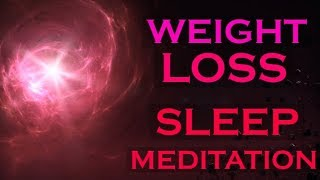 Download Weight Loss SLEEP MEDITATION ~ Creating Healthy Habits with Meditation Video