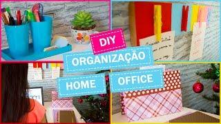 Download DIY - Ideias FÁCEIS e BARATAS de organização para o home office Video