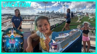 Download OUR FIRST DAY ON THE CRUISE 🚢😃😆#363 Video
