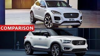Download 2018 Volvo XC40 vs 2018 Jaguar E-Pace Comparison - New Luxury SUV Crossover ! Video