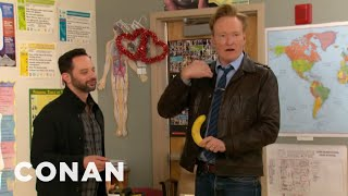 Download Conan & Nick Kroll Teach A Sex Ed Class Video