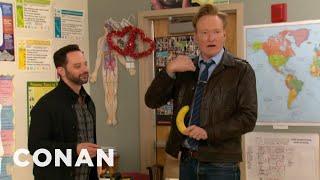 Download Conan & Nick Kroll Teach A Sex Ed Class Video