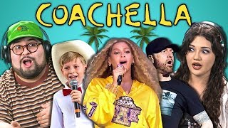 Download COLLEGE KIDS REACT TO COACHELLA 2018 (Beychella, Eminem, Walmart Yodel Boy) Video