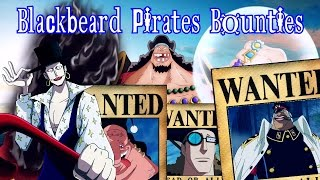 Download One Piece - Blackbeard Pirates Wanted/Bounties - Predictions/Theory Video