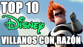 Download Top 10 Villanos Disney que tenian la razón Video